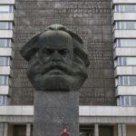 Karl Marx-Kopf in Chemnitz