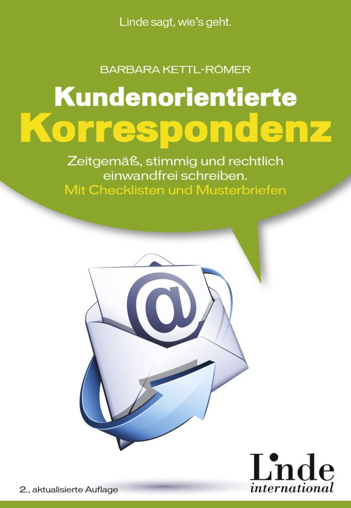 Kundenorientierte Korrespondenz - Buchcover